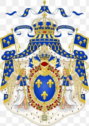 Italy - Kingdom Of France National Emblem Of France Coat Of Arms House Of Bourbon PNG