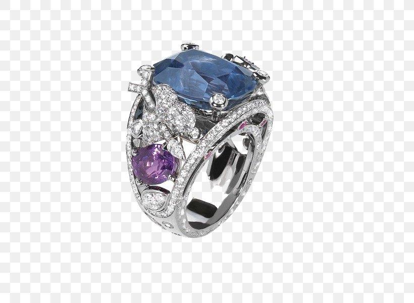 Sapphire Ring Jewellery Diamond Estate Jewelry, PNG, 600x600px, Jewellery, Amethyst, Bulgari, Chrysoberyl, Clothing Accessories Download Free
