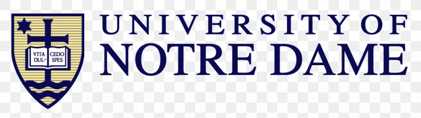 University Of Notre Dame Dept Of Chemical And Biomolecular Engineering Logo Organization Brand Font, PNG, 1024x288px, Logo, Area, Banner, Blue, Brand Download Free