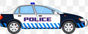 Police Vector Elements - Police Car Clip Art PNG