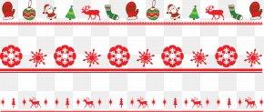 Christmas,Pattern Border,Vector - Christmas Computer File PNG