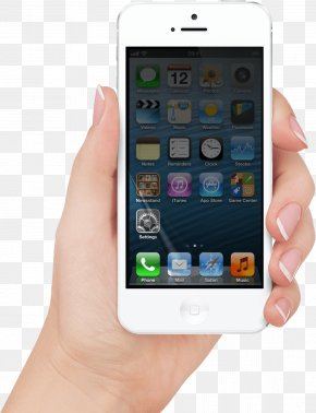 Smartphone In Hand Image - IPhone 5s IPhone 4 IOS Smartphone PNG