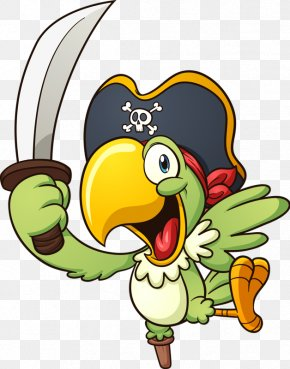 Knife Parrot - Parrot Piracy Royalty-free Clip Art PNG
