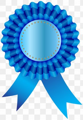 Blue Ribbon - Ribbon Free Clip Art PNG