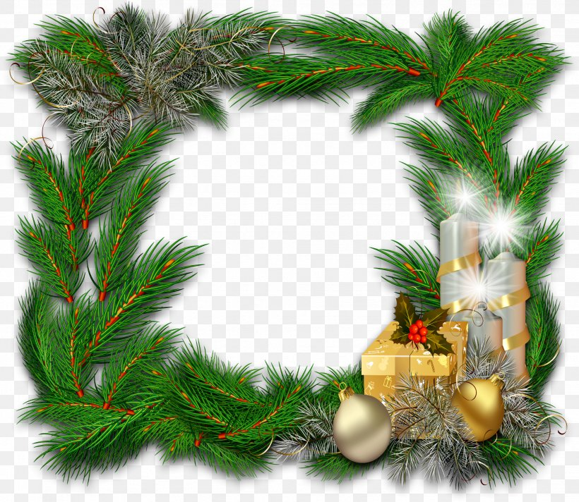 Picture Frames Ded Moroz New Year Clip Art, PNG, 1954x1699px, Picture Frames, Branch, Cardboard, Christmas, Christmas Decoration Download Free