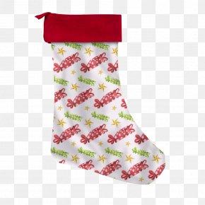 Santa Claus - Santa Claus Christmas Stockings Candy Cane Christmas Ornament PNG