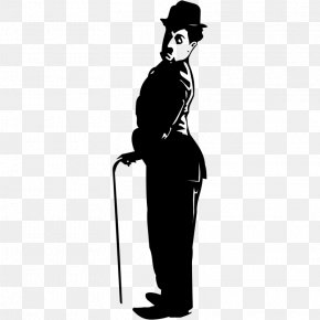 Silhouette - Tramp Silhouette Actor Comedian Film Director PNG