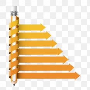 Creative Pencil Chart - Diagram Pencil Chart Infographic PNG
