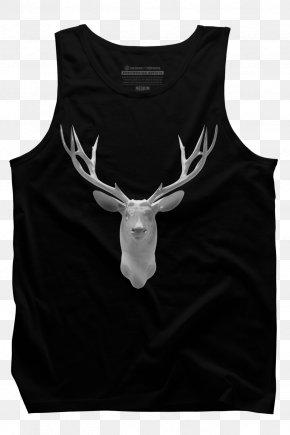 T-shirt - T-shirt Gilets Hoodie Hunting Deer PNG