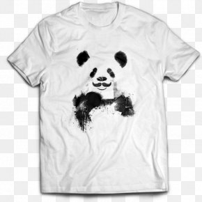 Bear - Giant Panda Bear Drawing Work Of Art PNG