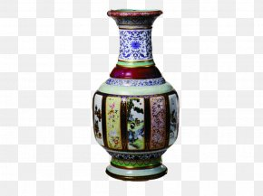 Ceramic Vase - National Palace Museum Collections Of The Palace Museum Forbidden City Qing Dynasty Porcelain PNG