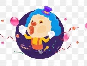 Cartoon Clown - April Fool's Day Poster Humour Joke PNG