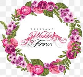 Wreath Wedding - Wedding Invitation Flower Wreath Clip Art PNG