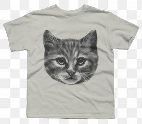 Cat Lover T Shirt - Kitten Siberian Cat Norwegian Forest Cat Domestic Short-haired Cat Clip Art PNG