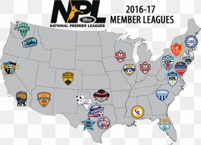 Premier League - National Premier Leagues National League US Club Soccer United States Youth Soccer Association PNG