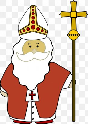 Bishop Cliparts - Pope Catholic Church Clip Art PNG