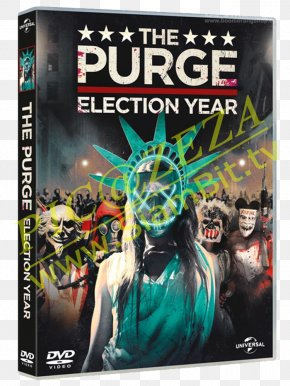 The Purge: Election Year - Leo Barnes The Purge Film Series Blu-ray Disc United States PNG