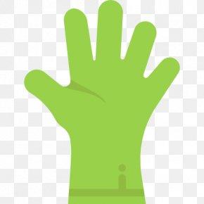 Hand Model Glove Grass PNG
