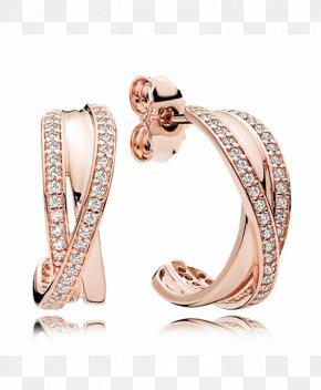 Hoop Earrings - Earring Pandora Jewellery Gold Charm Bracelet PNG