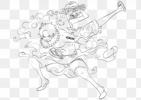 Sabo Ace Luffy - Line Art Portgas D. Ace Drawing Monkey D. Luffy Sketch PNG