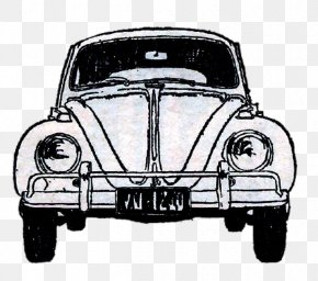 Vintage Car - Volkswagen Beetle Car Ford Model T PNG