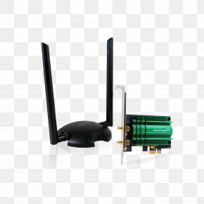 Antenna Microwave Amplifier - Wireless Network Interface Controller Wi-Fi PCI Express Aerials Amped Wireless Pci20e High Power Ac1200 Wifi Pcie Adapter PNG
