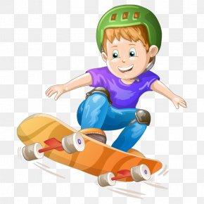 Cartoon Characters,Skateboard Boy - Royalty-free Cartoon Stock Photography Illustration PNG