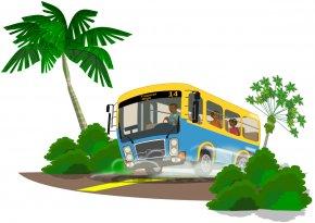 Bus - Tour Bus Service Travel School Bus Clip Art PNG