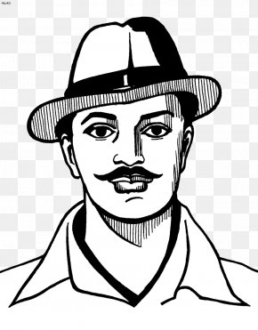 Bhagat Singh Image - Indian Independence Movement Khatkar Kalan Punjab Faisalabad District Revolutionary PNG