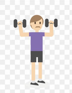 Dumbbell - Euclidean Vector Physical Exercise Dumbbell PNG
