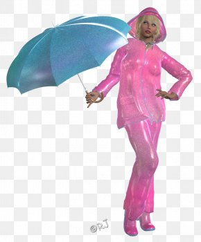 Rainy Day - Pink M Outerwear PNG