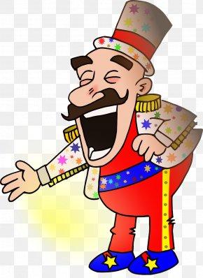 Circus People - Circus Cartoon Ringmaster Clip Art PNG