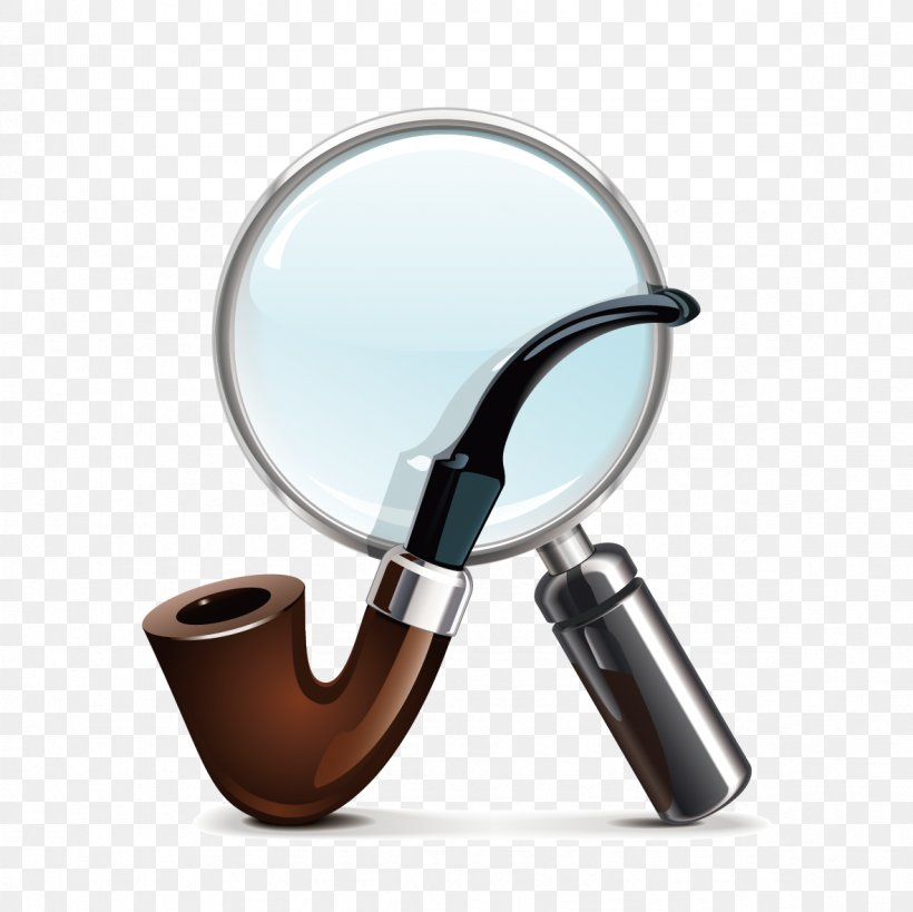 Tobacco Pipe Loupe Stock Photography Royalty-free, PNG, 1181x1181px, Tobacco Pipe, Drawing, Loupe, Magnifying Glass, Pipe Download Free
