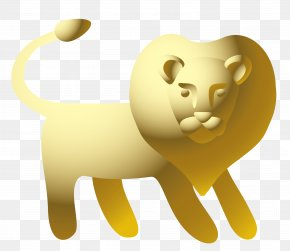 Vector Leo Statue Material - Lion Leo Euclidean Vector Horoscope PNG