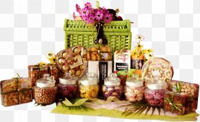 Raya - Hamper Food Gift Baskets Pineapple Tart PNG