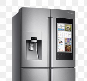Home Appliances - Internet Refrigerator Samsung Home Appliance Auto-defrost PNG