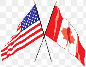 American Flag - Flag Of The United States Flag Of Canada Canadian Americans PNG