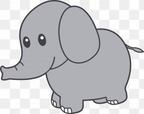 Elephant Cliparts - Elephant Cuteness Giant Panda Clip Art PNG