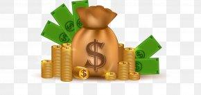 Gold Purse - Theme Finance PNG