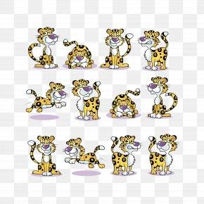 Vector Cheetah - Cheetah Tiger African Leopard PNG