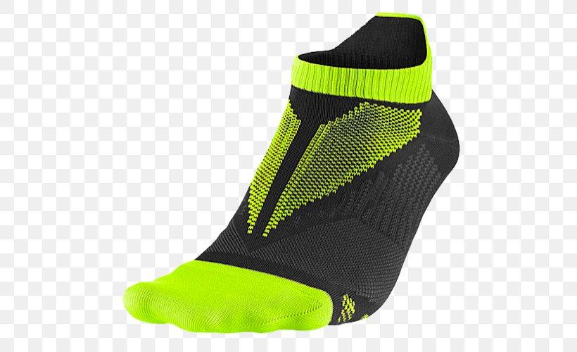 Sock Nike Running Injinji Run Ultra No-Show ASICS, PNG, 500x500px, Watercolor, Cartoon, Flower, Frame, Heart Download Free