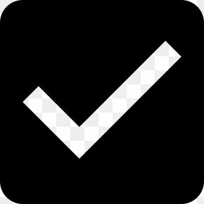 Box With Check Mark - Checkbox Check Mark User Interface Clip Art PNG