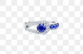 Sapphire - Sapphire Ring Jewellery Harry Winston, Inc. Diamond PNG