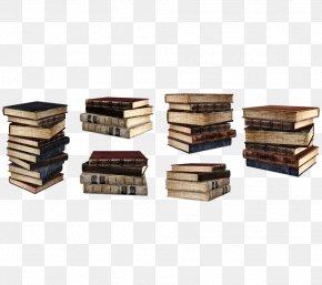 Vintage Books - Book DeviantArt PNG