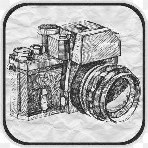Camera - Camera Photography Drawing PNG