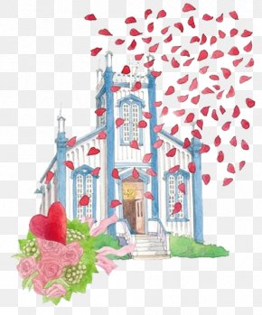 Pilgrimage Of The Church - Church Flower Download Illustration PNG