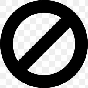 Forbidden Icon - Font Awesome Ban Clip Art PNG