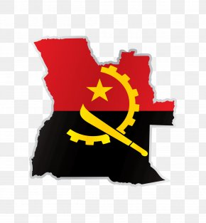 Ship Anchor Chain Manufacturer - Flag Of Angola Gallery Of Sovereign State Flags National Flag PNG