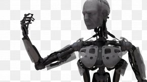 Cyborg Picture - Robot Black And White Product Design PNG