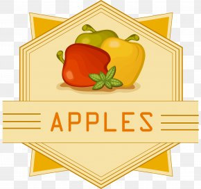 Yellow Simple Apple Logo - Apple Clip Art PNG